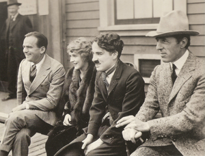 United Artists - Douglas Fairbanks, Mary Pickford, Charlie Chaplin, and D. W. Griffith in 1919