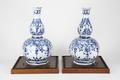 Fajans, flaskor, 2 st. 1700-tal - Hallwylska museet - 90500.tif
