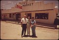 Family in Front of the Grocery Store They Own in Leakey Texas, near San Antonio, 05-1973 (3704382548).jpg