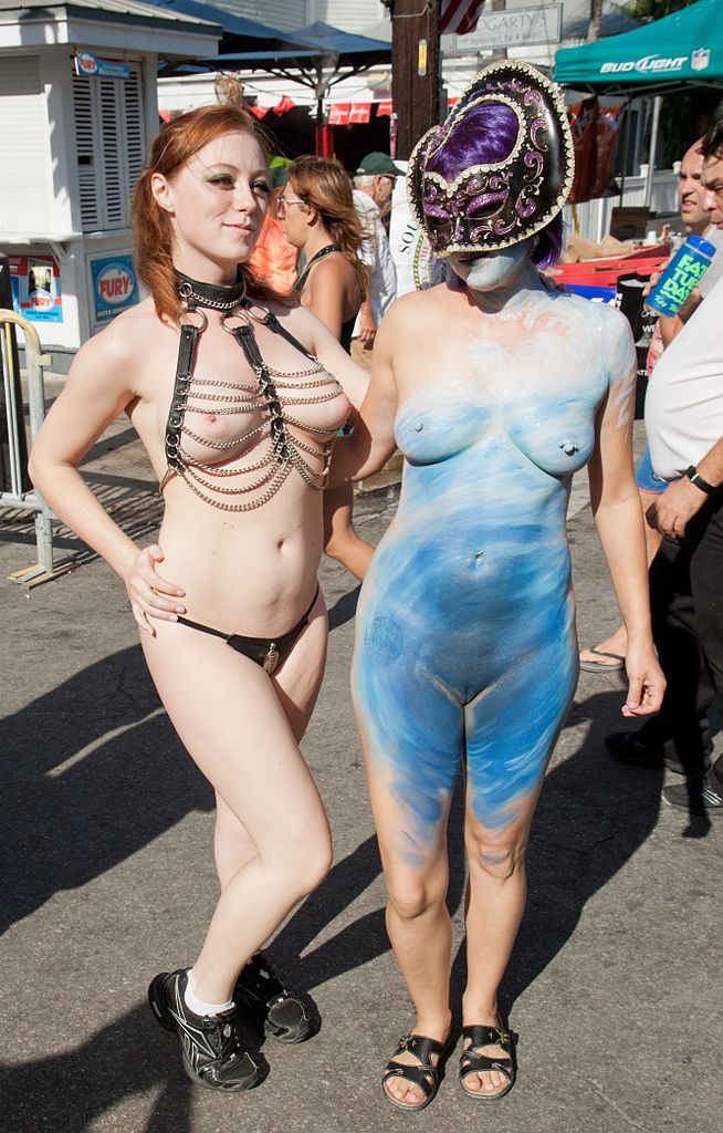 from Asa nude fantasy festival women