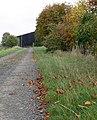 Farm track in Autumn - geograph.org.uk - 586270.jpg
