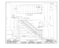 Father Snowden House, 991 Wyoming Avenue, Forty Fort, Luzerne County, PA HABS PA,40-FOFO,4- (sheet 10 of 15).png