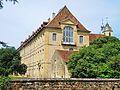 Faverney. Bâtiment de l'ancienne abbaye. Vue arrière. 2015-06-26.JPG