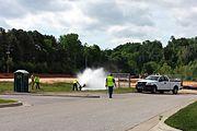 Fayetteville flushing hydrant