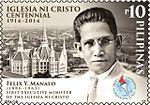 Felix Manalo Felix Manalo 2014 stamp of the Philippines.jpg