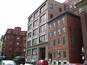 Suffolk College of Arts and Sciences - Image: Fenton Building Suffolk University
