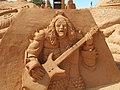 Festival Internacional de esculture em Areia, Kiss, 23 September 2015.JPG