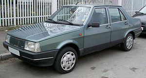 Fiat Regata - Facelift Fiat Regata (Europe)