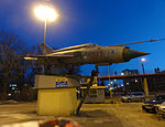 Fighter aircraft at Politechnika Lodzka (7993625288).jpg