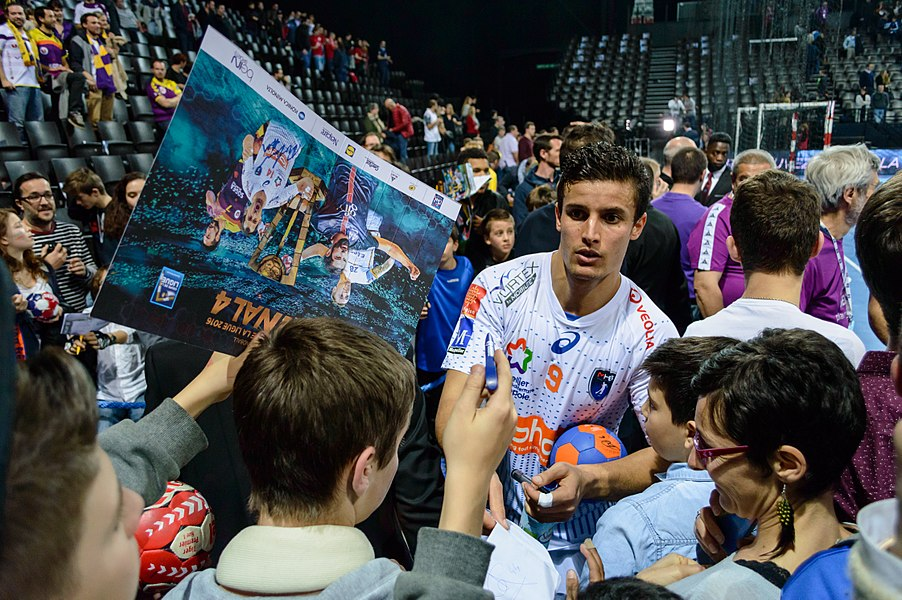 Semi-finale of the Handball League Cup, between Fenix HBC Nantes and Montpellier Handball.