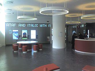 Nuovo Trasporto Viaggiatori - NTV lounge at Firenze Santa Maria Novella railway station