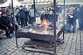 Fireplace at Vilshofen Christkindlmarkt.jpg