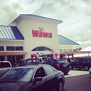 A Wawa In Orlando Florida On Opening Day