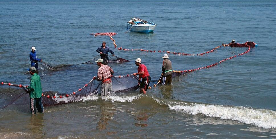 Fishermen in Egypt