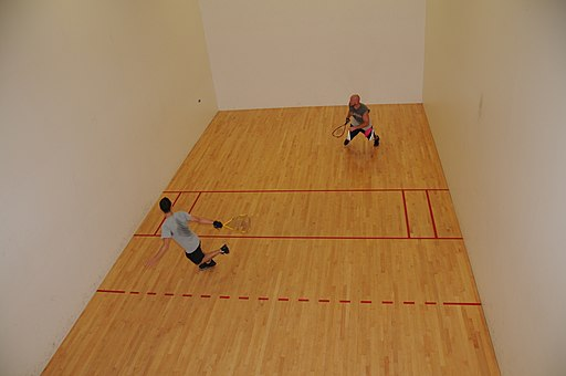 Fitness facility hosts racquetball tournament (7825498886)