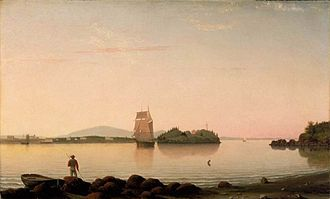 Fitz Henry Lane - Image: Fitz Hugh Lane Owl's Head, Penobscot Bay, Maine WGA12441