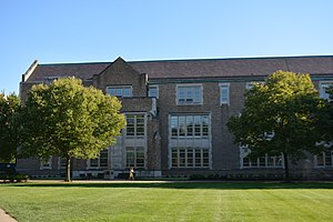 Notre Dame College of Engineering - Image: Fitzpatrick Hall