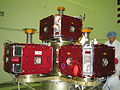 Five THEMIS satellites on the probe carrier.jpg