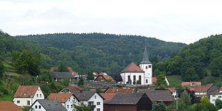 Flörsbachtal Place in Hesse, Germany