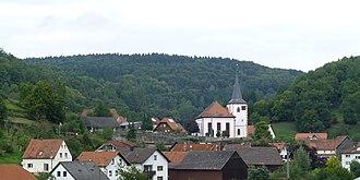 Flörsbachtal - Flörsbachtal, Ortsteil Lohrhaupten