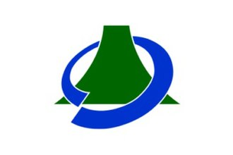 Fujikawaguchiko, Yamanashi - Image: Flag of Fujikawaguchiko Yamanashi