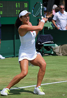 Chanelle Scheepers South African tennis player