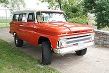 1964 Chevy Suburban Carryall