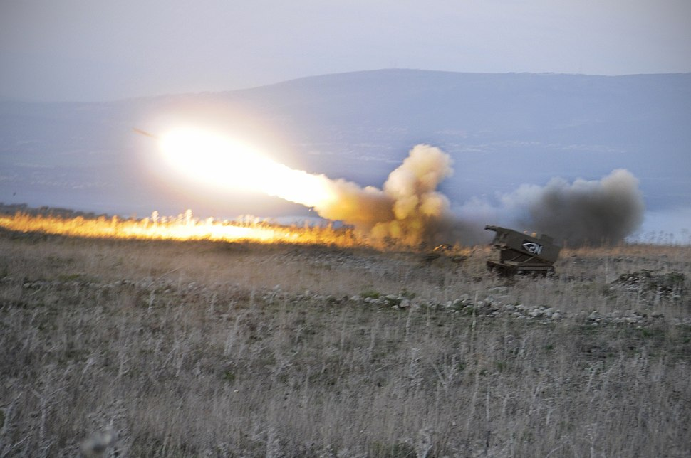 Flickr - Israel Defense Forces - The Israeli Developed MLRS Launcher in Action