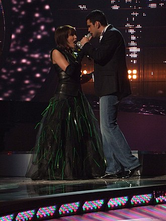 Romania in the Eurovision Song Contest - Image: Flickr proteusbcn Semifinal 1 EUROVISION 2008 (129)