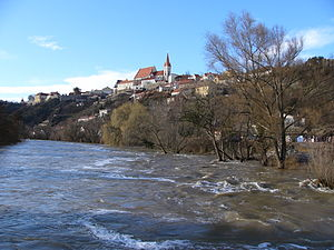Flood in Znojmo (2006) 1