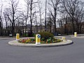 Floral Display on Roundabout, Chase Road, London N14 - geograph.org.uk - 1778470.jpg