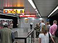 Florenc C, uzavřený výstup ze stanice.jpg