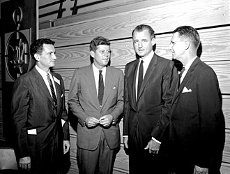 Florida Blue Key - Florida Blue Key banquet with O'Connell, Kennedy, Smathers, and Reitz in 1957.