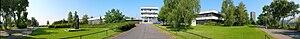 Comenius University Faculty of Mathematics, Physics and Informatics - Image: Fmfi matematika panorama 180