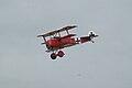 Fokker Dr.I Manfred Richthofen Pass 03 Dawn Patrol NMUSAF 26Sept09 (14413308688).jpg