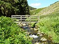 Footbridge over Spout Gill - geograph.org.uk - 501972.jpg