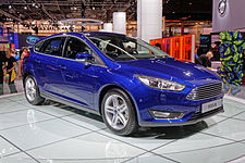 Ford Focus - Mondial de l'Automobile de Paris 2014 - 001.jpg