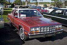 1983 Ford Fairmont Interior