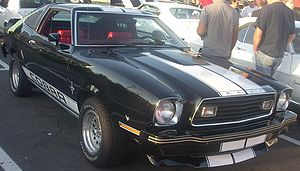 Ford Mustang (second generation) - Ford Mustang II T-Top Cobra hatchback