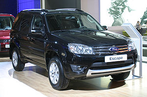 Taiwan-built Ford Escape intended for Russian ...