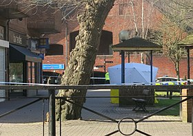 Forensic tent at The Maltings, Salisbury (cropped).jpg