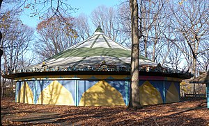 Forest Park (Queens) - Carousel, closed for winter