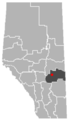 Forestburg, Alberta Location.png