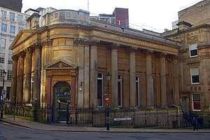 Birmingham Banking Company - The former Birmingham Banking Company building at the junction of Waterloo Street and Bennetts Hill