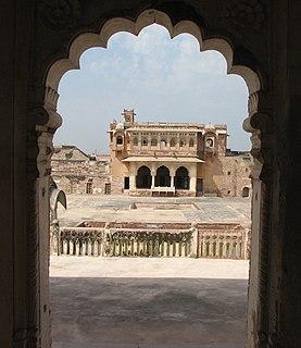 Nagaur City in Rajasthan, India