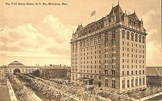 Ross and Macdonald - Image: Fort Garry Winnipeg