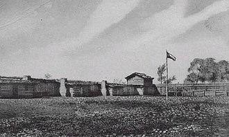 Fort Parker massacre - Image: Fort parker
