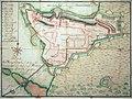 Fortifikationsplan von Rapperswil, 1710 M. L. Kaufflin - Stadtmuseum Rapperswil - 'Stadt in Sicht - Rapperswil in Bildern' 2013-10-05 16-24-56 (P7700).jpg