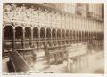 Fotografi på korstolarna i katedral, Toledo - Hallwylska museet - 107279.tif
