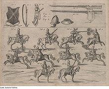 Manuale Drill per archibugieri a cavallo - 1616.